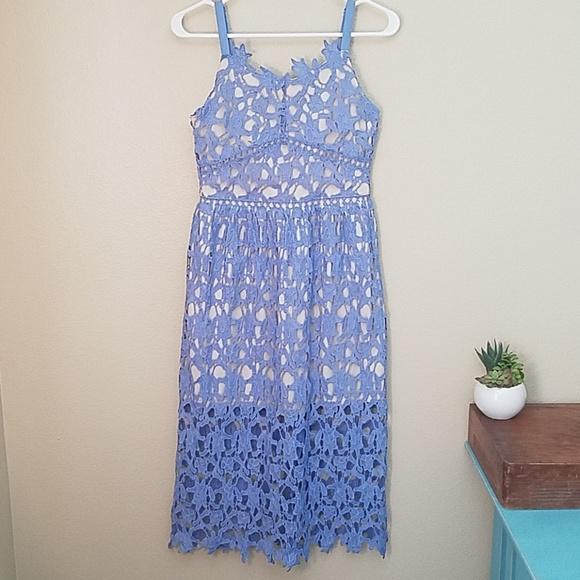 9f9888d1b trixxi girl Dresses | Blue Lace Dress Girls 14 | Poshmark